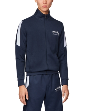 Boss Men's Skaz Zip-Through Sweatshirt