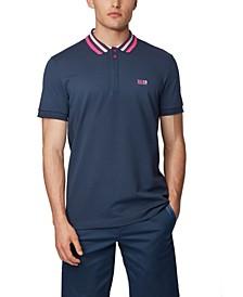BOSS Men's Paddy 1 Cotton-Piqué Polo Shirt