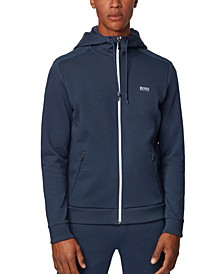 BOSS Men's Saggy TR Zip-Through Hooded Sweatshirt