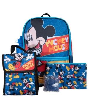 Bioworld Mickey Backpack, 5 Piece Set