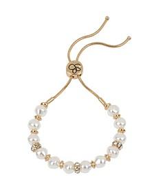 Imitation Pearl Friendship Bracelet