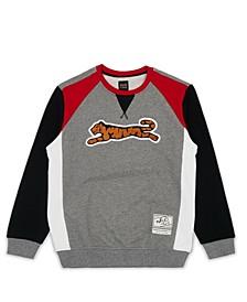Men's Retro Logo Crew Neck Sweatshirt