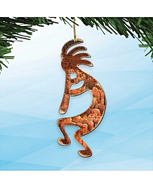 Kokopelli Wooden Ornaments Set of 2