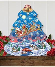 Nativity Wooden Advent Calen