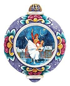 Hand Painted Scenic Ornament Nutcracker Ballet