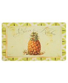 "Comfort Bless 1' 6"" L X 2' 6"" W Kitchen Mat"
