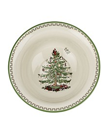CLOSEOUT! Christmas Tree Gold-tone Serving Bowl