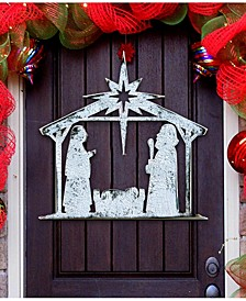 Rising Star Nativity Wooden Decor