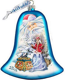 Father Frost Story Holiday Splendor Glass Ornament