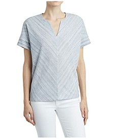 Women's Chevron Front Top