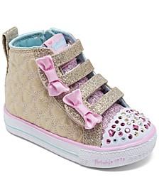 Toddler Girl's Twinkle Toes Shuffle Lite - Quilted Beauties Stay-Put Closure Casual Fashion Sneakers from Finish Line