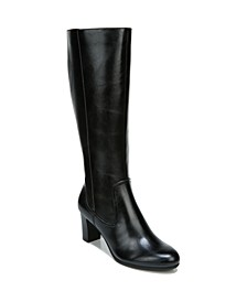 Missy Wide Calf High Shaft Boots