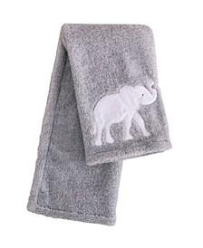 Baby Elephant Parade Crib Blanket