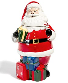 Santa Figural Cookie Jar, Created for Macy's