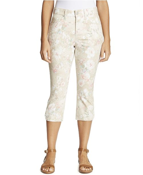 Gloria Vanderbilt Women's Comfort Curvy Capri, in Regular & Petite Sizes