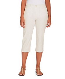 Women's Amanda Trouser Capri, in Regular & Petite Sizes