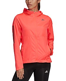 Women's Own the Run Zip-Front Wind Jacket