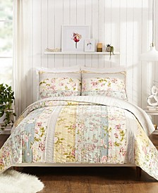 Mels Floral Quilt and Sham Collection