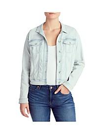 Women's Basic Denim Jacket