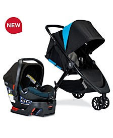 B-Lively Travel System with B-Safe Ultra Infant Car Seat, Cool Flow Collection