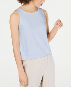 Eileen Fisher BALLET-NECK TANK TENCEL TOP, REGULAR & PETITE