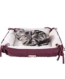 2-In-1 Cat Pet Bed Fleece Cat Mat