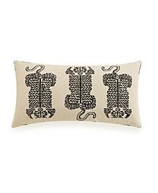 "Tiger Print 14"" x 26"" Decorative Pillow"