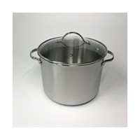 Deals on Tools of the Trade 8-Qt. Stainless Steel Stockpot with Lid