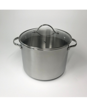 Tools of the Trade 8-Qt. Stainless Steel Stockpot with Lid, Created for Macy's