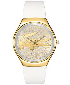 Lacoste Watch, Women's Valencia White Silicone Strap 38mm 2000807