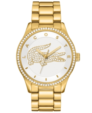 Lacoste Watch, Women's Victoria Gold Ion-Plated Stainless Steel Bracelet 40mm 2000827