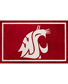 """Washington State Colwt Red 1'8"""" x 2'6"""" Area Rug"""