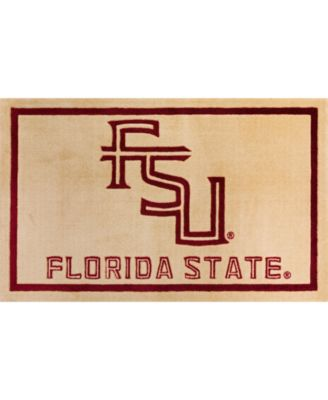 """Florida State Colfs Gold 1'8"""" x 2'6"""" Area Rug"""