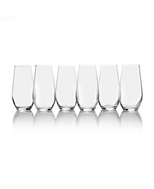 Gianna Highball Glasses, Set of 6