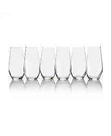 Gianna Highball Glasses, Set of 6