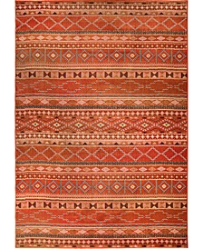 """Jackson Square Zemmour Red 5'3"""" x 7'6"""" Area Rug"""