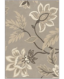 """Touch Lily Taupe 6'7"""" x 9'8"""" Area Rug"""