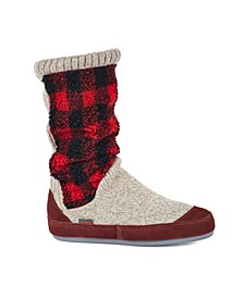 Women's Slouch Boot Slippers