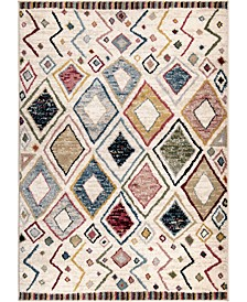 "Monument Lane Settat Bone 5'3"" x 7'6"" Area Rug"