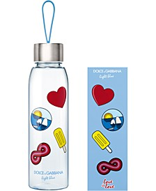 Receive an exclusive D&G Light Blue Water Bottle & Stickers with any large Men's or Women's Dolce & Gabbana Light Blue Fragrance Purchase