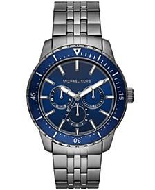 Men's Cunningham Multifunction Gunmetal Stainless Steel Bracelet Watch 44mm MK7155