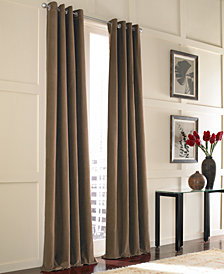 CHF Messina Velvet Window Treatment Collection
