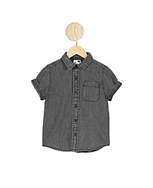 Little Boys Resort Short Sleeve Shirt
