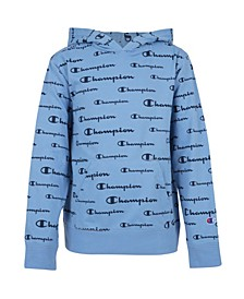 Toddler Boys Aop Champion Script French Terry Hoodie