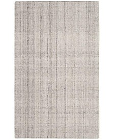 Abstract 141 Silver 3' x 5' Area Rug