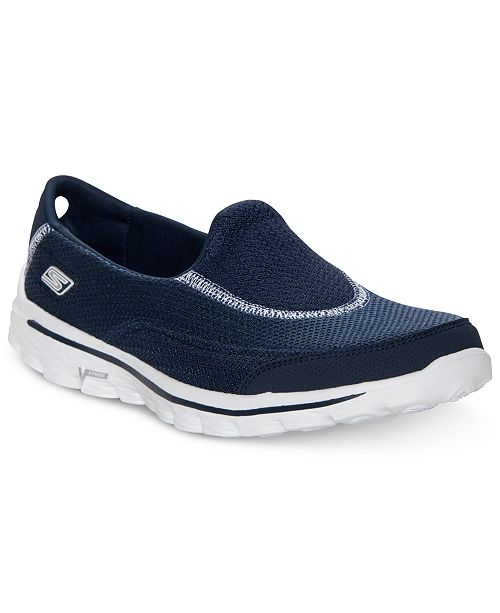 579f360f273732 Skechers Women s Go Walk 2 Walking Sneakers from Finish Line ...