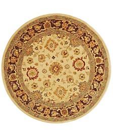 Anatolia An546 Ivory 6' x 6' Round Area Rug