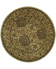 Antiquity At57 Beige 8' x 8' Round Area Rug