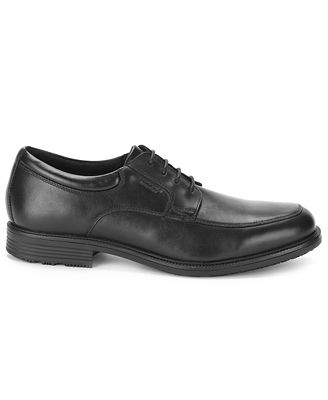 Rockport Men's Essential Details Waterproof Apron Toe Oxford Men's Shoes