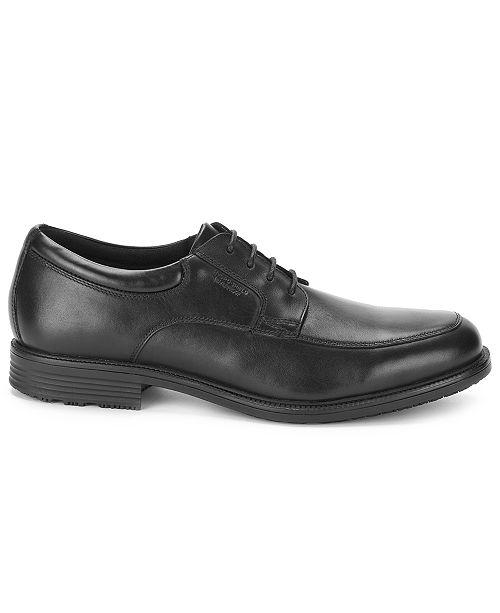 Rockport Men's Essential Details Waterproof Apron Toe Oxford Men's Shoes XCNUoS
